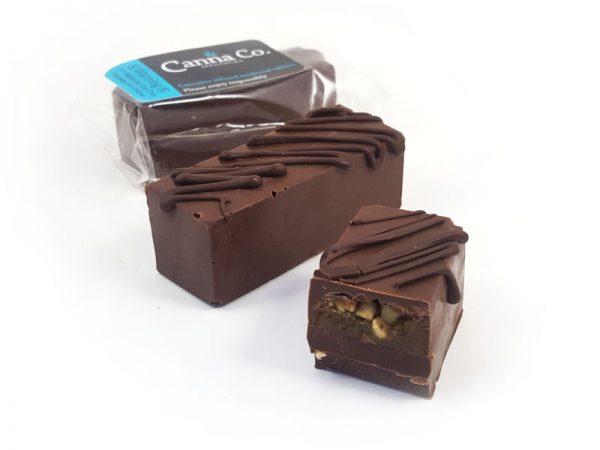 Chocolate Caramel Nougat Bar by Canna Co Medibles
