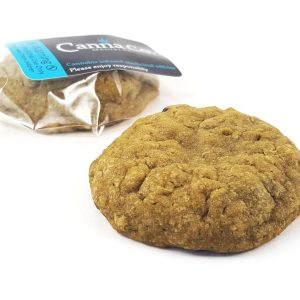 Oatmeal Cinnamon Raisin Cookie by Canna Co Medibles