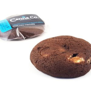 Triple Chocolate Fudge Cookie by Canna Co Medibles