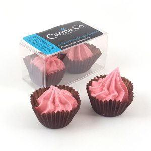 Baja Rosa Strawberry Ganache Rosebuds by Canna Co Medibles