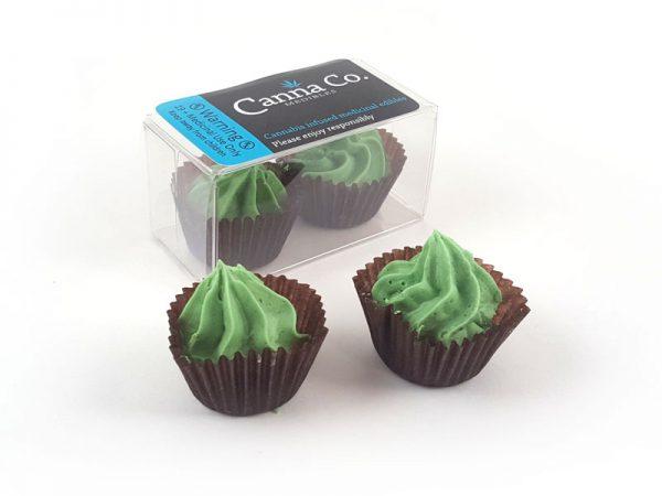 Mint Liqueur Ganache Rosebuds by Canna Co Medibles