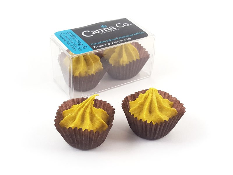 Limoncello Ganache Rosebuds by Canna Co Medibles