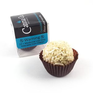 White Chocolate Coconut Cream Truffle by Canna Co Medibles