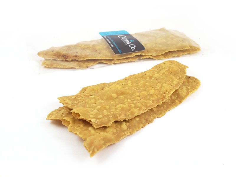 Vegetable Flatbread Crackers by Canna Co Medibles
