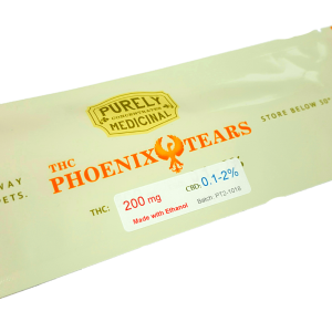 Phoenix Tears THC 200 mg by Purely Medicinal