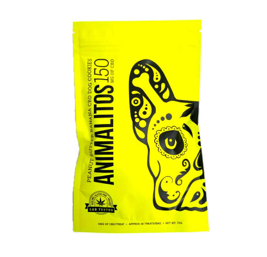 Animalitos CBD Dog Cookies by Mota