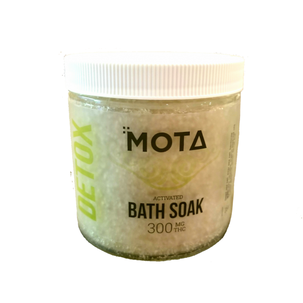 Mota Detox Activated Cannabis Bath Soak