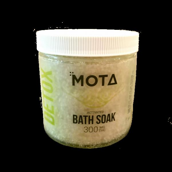 Mota Detox Activated Cannabis Bath Soak