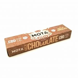 Milk Chocolate CBD Chocolate Bar by Mota