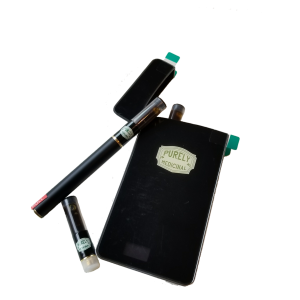 Electronic Vape Pen with 3 Cartridges by Purely Medicinal