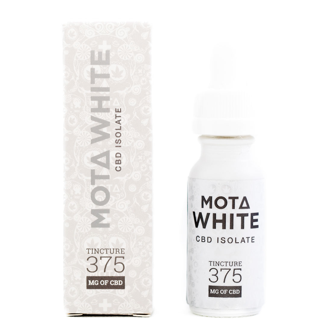 Mota White CBD Isolate Tincture by Mota
