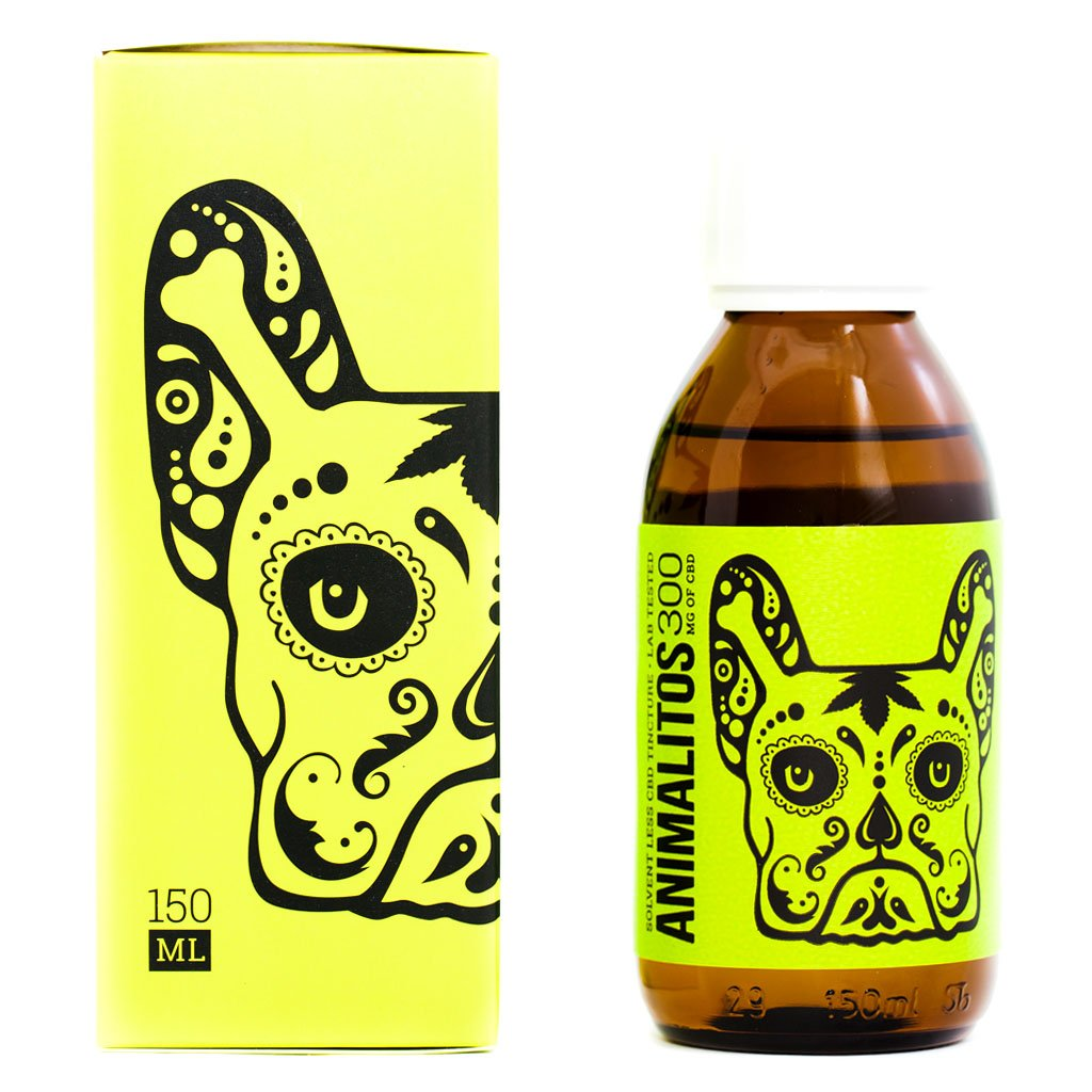 animalitos cbd dog tincture by mota