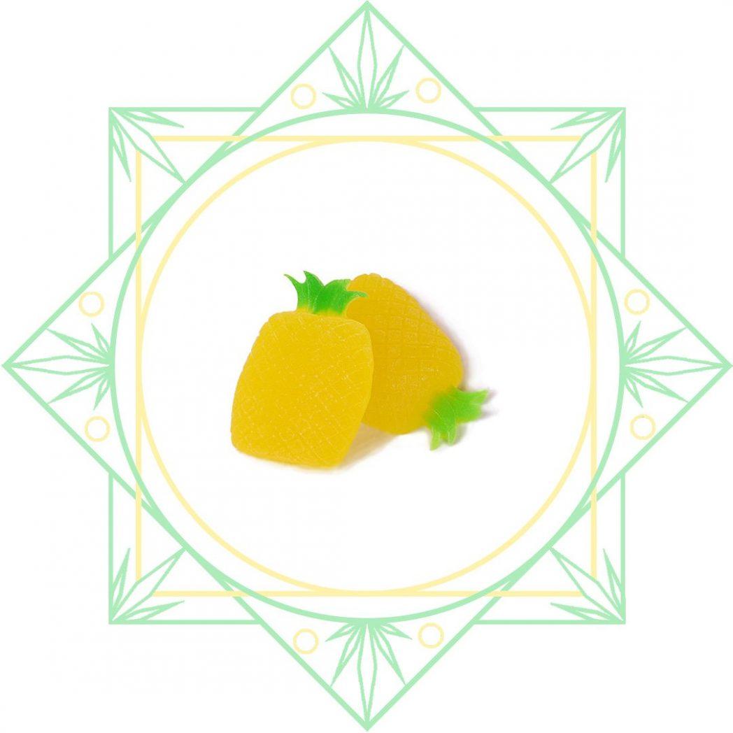 BC Pineapple Gummies by SeC
