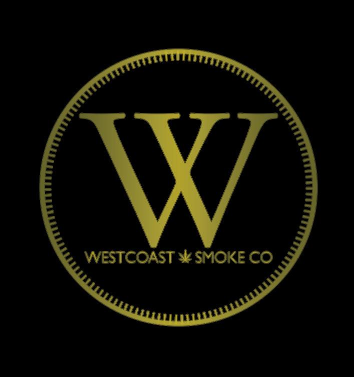 westcoast smoke co gold logo