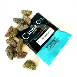 CBD and THC Gummies by Canna Co Medibles