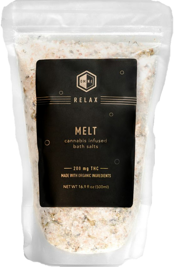Melt Bath Salts by Omni Botanicals