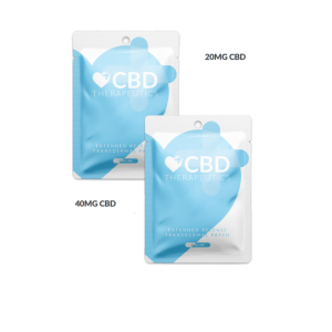 CBD Transdermal Patch by CBC Therapeutics. 20mg CBD patches and 40mg CBD patches sold in packs of 8