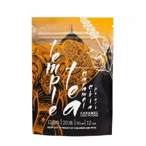medical cannabis medical marijuana products Temple Tea Caramel Chai Pu-Erh