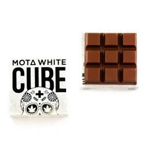 medical cannabis medical marijuana products ota White CBD Milk Chocolate Cube