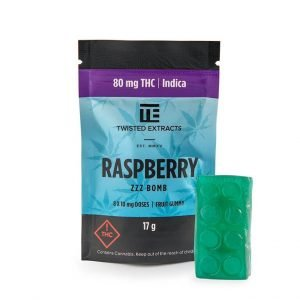 medical cannabis medical marijuana products Blue Raspberry ZZZ Bomb by Twisted Extracts