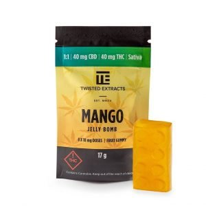 Mango 1 to 1 Jelly Bombs Twisted Extracts