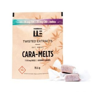 Cara-Melts 1 to 1 Indica to CBD by Twisted Extracts