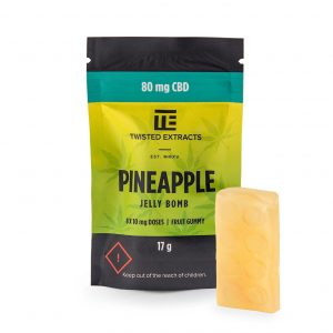 Twisted Extracts Pineapple CBD Jelly