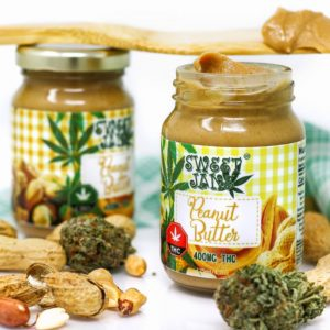 Sweet Jane Peanut Butter - 400 mg THC