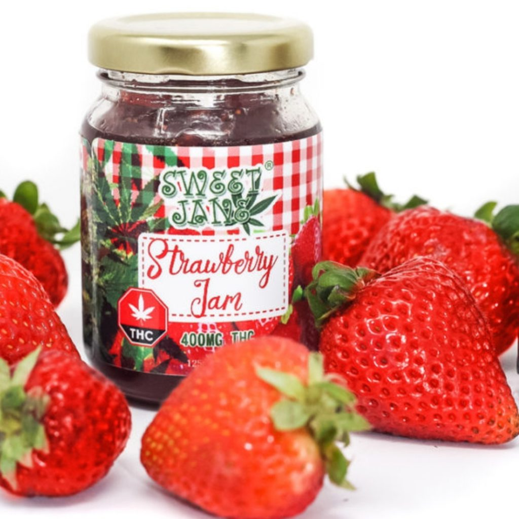 Read more on Sweet Jane Strawberry Jam – 400 mg THC