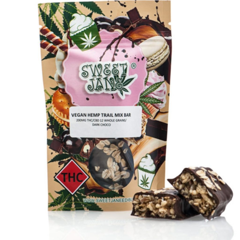 Read more on Sweet Jane Hemp Trail Mix Bar – Vegan – THC