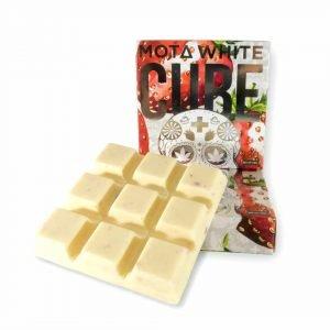 medical cannabis medical marijuana products ta Strawberries and Cream CBD White Chocolate Cube