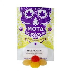medical cannabis medical marijuana products Mota CBD Fruit Jellies