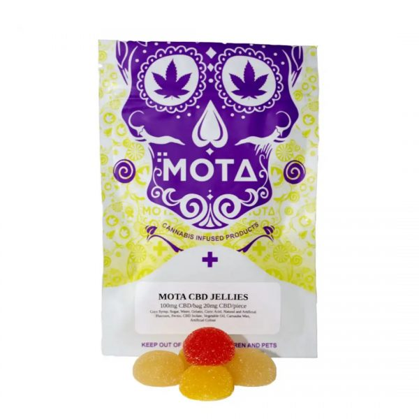 Mota CBD Fruit Jellies
