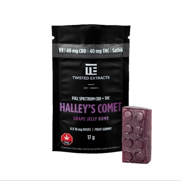 Halleys Comet Grape Jelly Bomb - Twisted Extracts