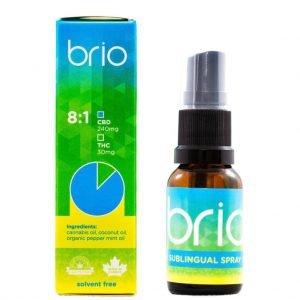 Brio 8 to 1 CBD to THC
