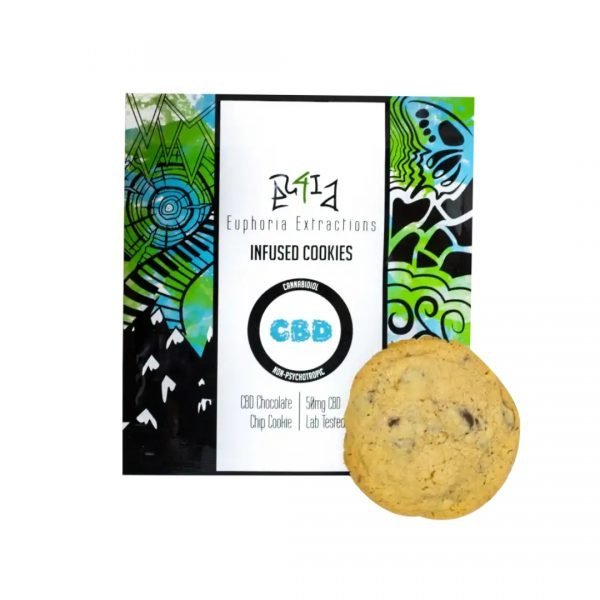Euphoric Extractions CBD Cookies