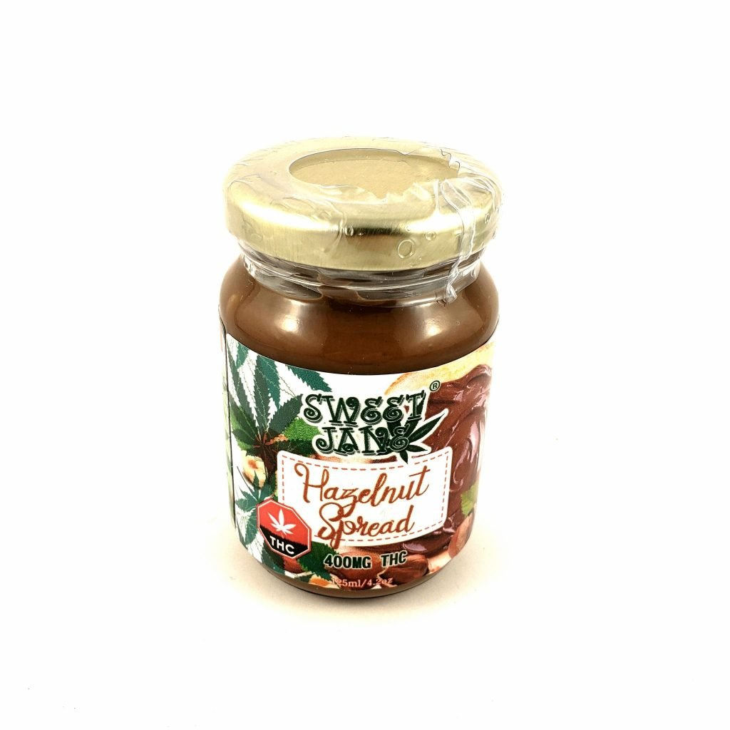 Read more on Sweet Jane Hazelnut Spread THC