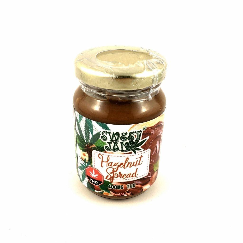 Read more on Sweet Jane Hazelnut Spread THC