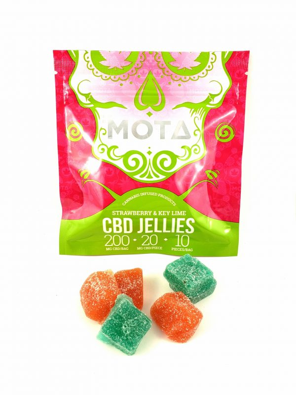 Mota CBD Jellies 200mg of CBD