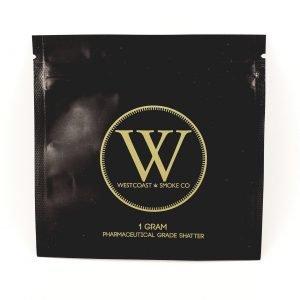 Westcoast Smoke Co Premium Shatter