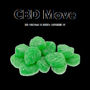 Medicated Mint CBD Gummies - CBDmove