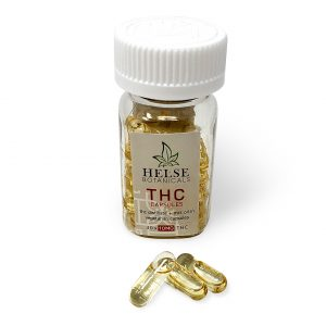 THC Capsules - Helse Bontanicals - 10 mg THC