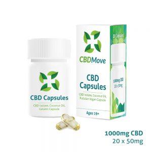 CBD Capsules - Vegan - CBDmove