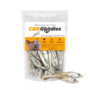 Medicated cat treats - CBD Goodies - CBDmove