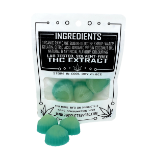 High Seas Gummies - SeC - 1:1 - CBD:THC, 75mg THC:75mg CBD in total