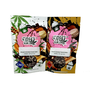 Vegan Coconut Bliss Bars - Sweet Jane