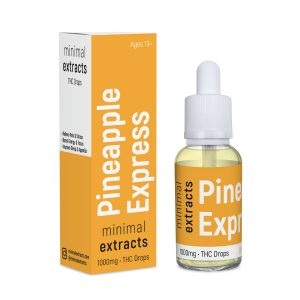 Pineapple Express Tincture - 1000mg THC - Minimal Extracts