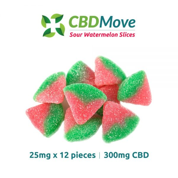 Sour Watermelon Slices - CBD