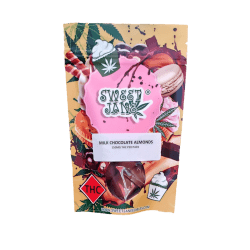 Sweet Jane Milk Chocolate Almonds – 150 mg THC
