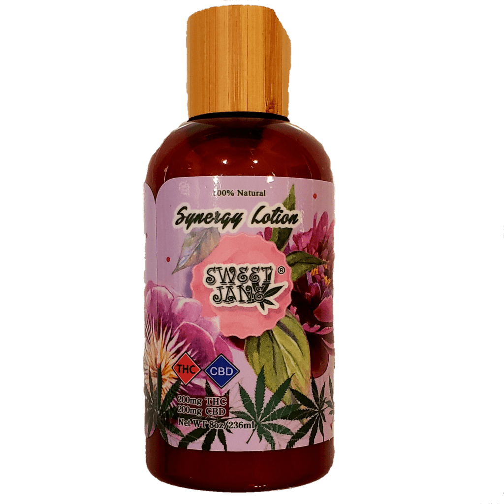 Read more on Synergy Lotion CBD & THC – Sweet Jane